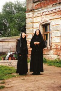 Игумении Иулиания и Евпраксия. 1995 год