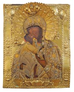 Оршинская Феодоровская икона Божией Матери. XIX век Областная картинная галерея