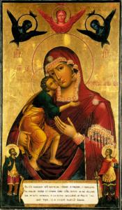 Феодоровская икона Божией Матери, ныне пребывающая в Оршине монастыре