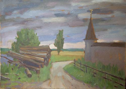 С. Лисица. Возле Оршина монастыря