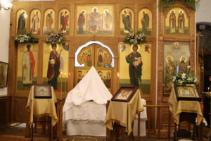 17 октября 2017 г. Освящение святительского престола