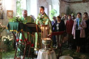 27 мая 2018 г. Престольный праздник в храме Троицы за Волгой