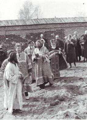 Крестный ход на Орше. 26 апреля 1992 г.